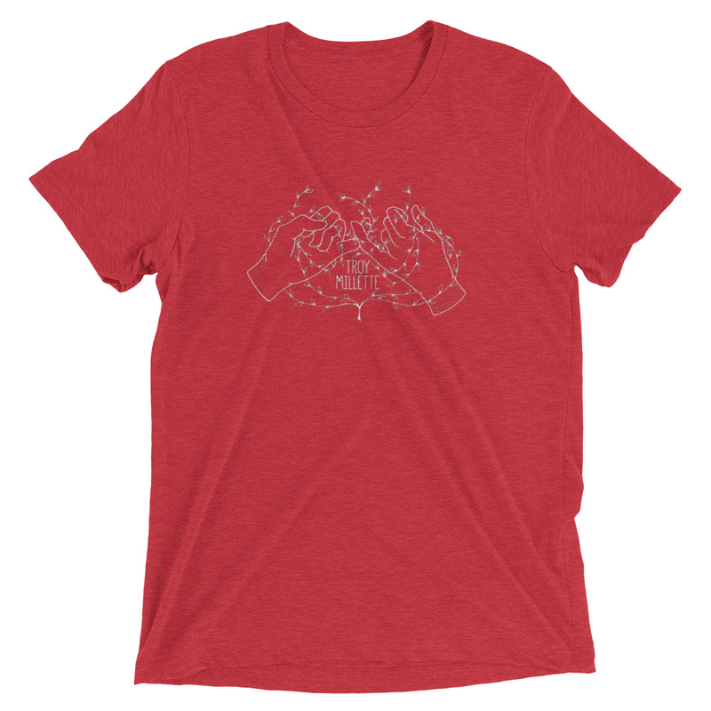 Pinky Promise Red Tee