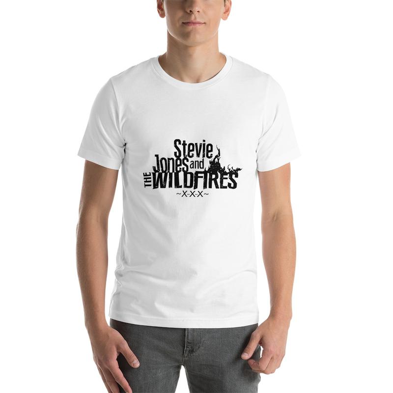 Short-Sleeve Unisex Black Logo T-Shirt