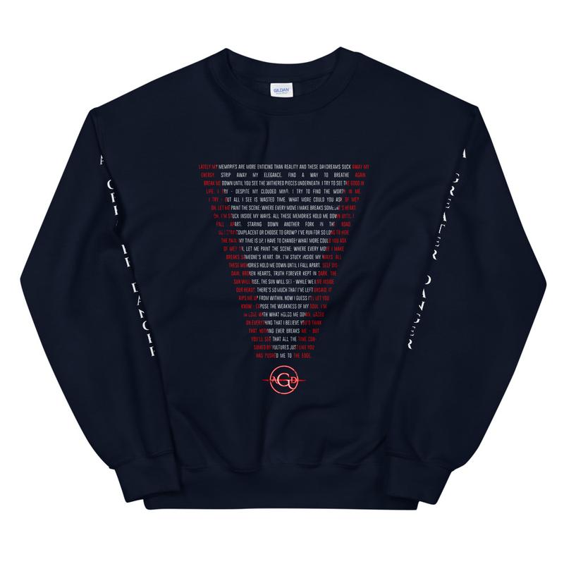"""""""V"""" for Vertigo - Crewneck Sweatshirt"""