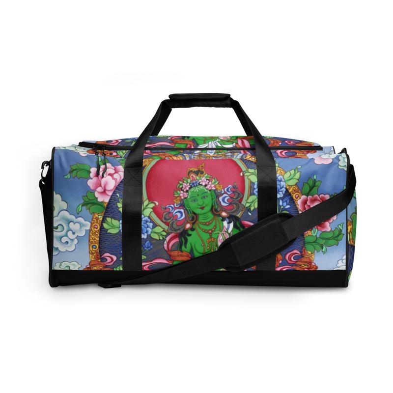 Green Tara Duffle Bag