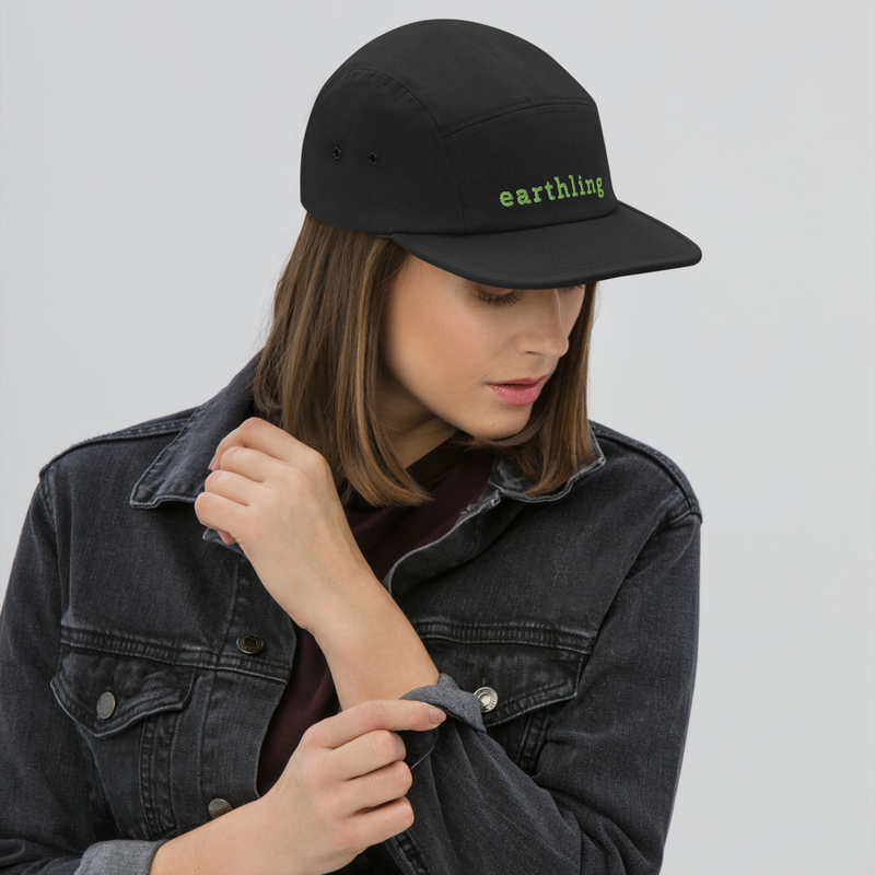 Five Panel Adult earthling Cap