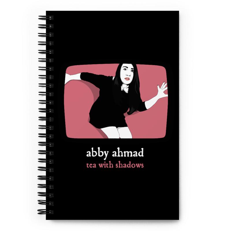 Abby in WonderZone Spiral Notebook