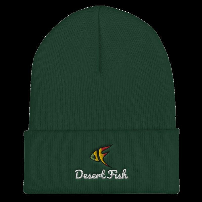 DF Logo Cuffed & Stitched Beanie Black, Navy, Green
