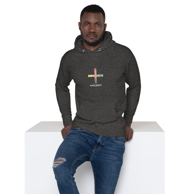 By This Faith Logo: Unisex Hoodie (Black or Gray)