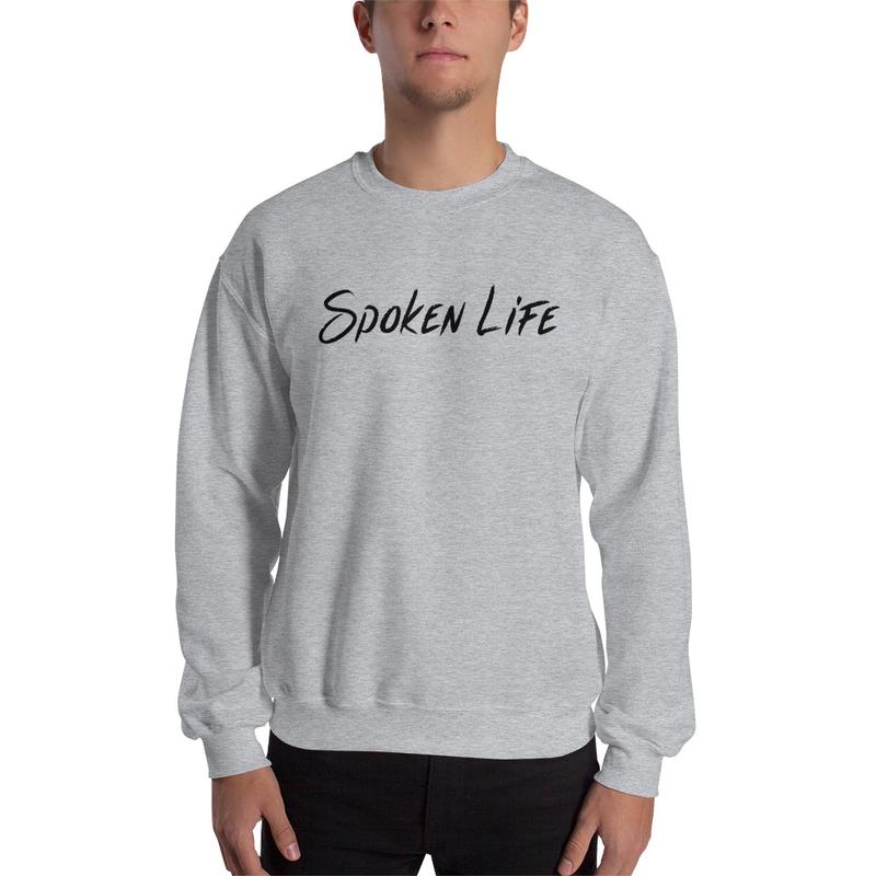 Crew Neck Sweatshirt w/ Logo