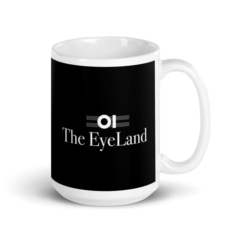 The EyeLand Mug Black