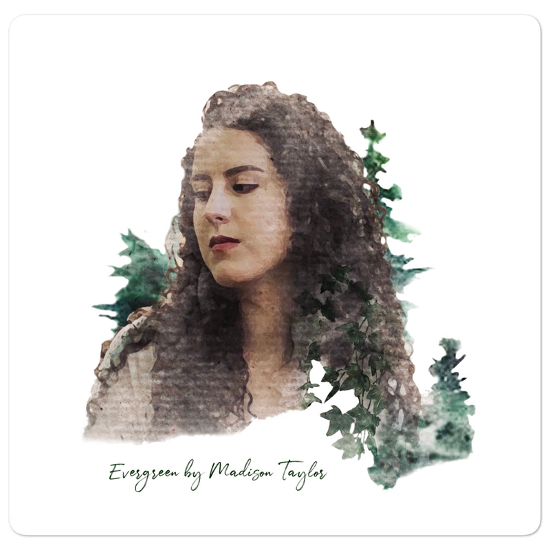 """Evergreen"" sticker"