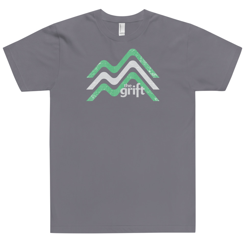 Unisex Short Sleeve T-Shirt - Mountain Logo (Made in USA!)