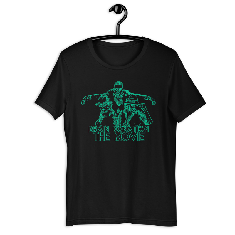 'The Movie' (Green on Black)