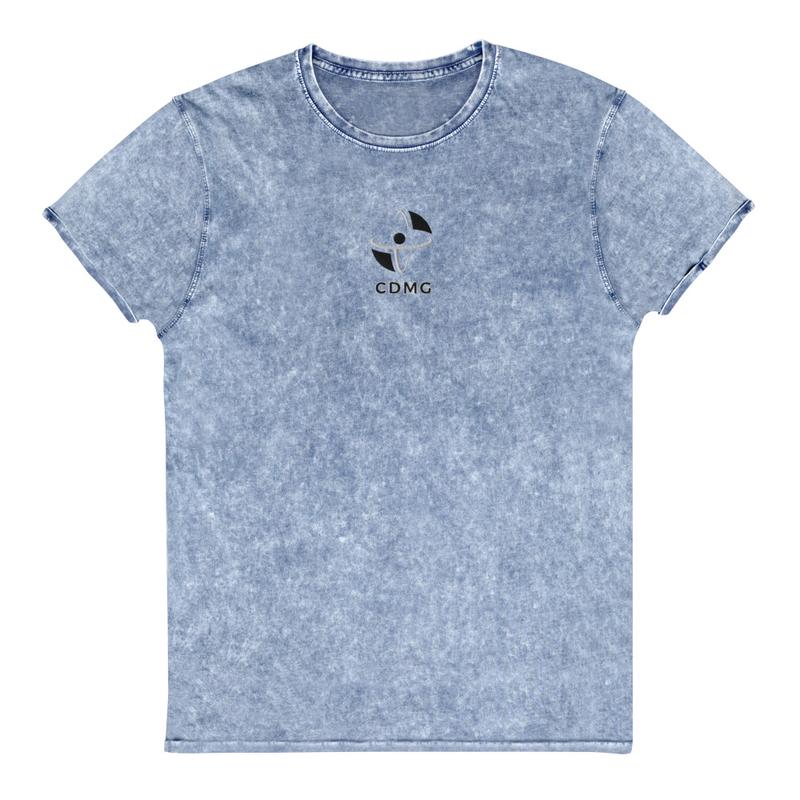 CDMG Custom Embroidered Denim T-Shirt