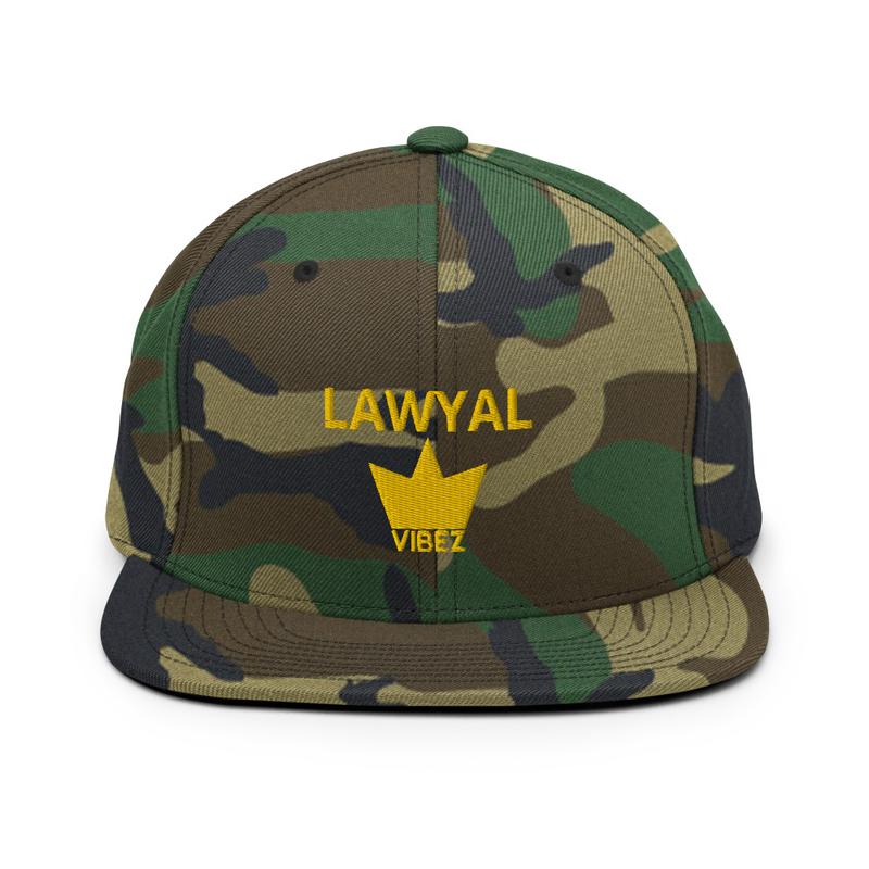 LAWYAL VIBEZ Snapback Hat