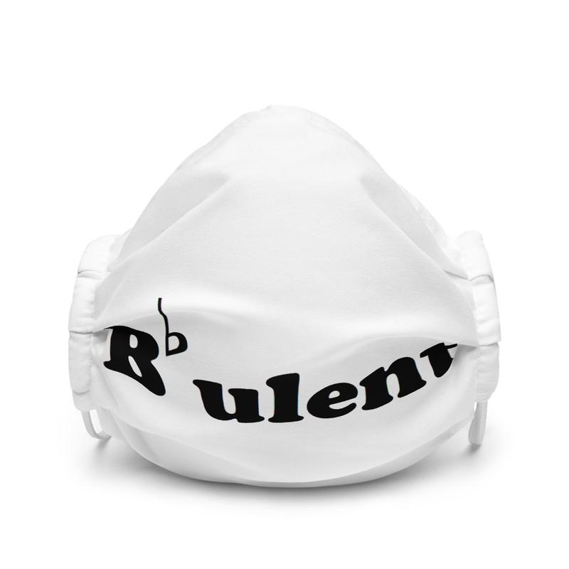 B-Flatulent - Premium white face mask