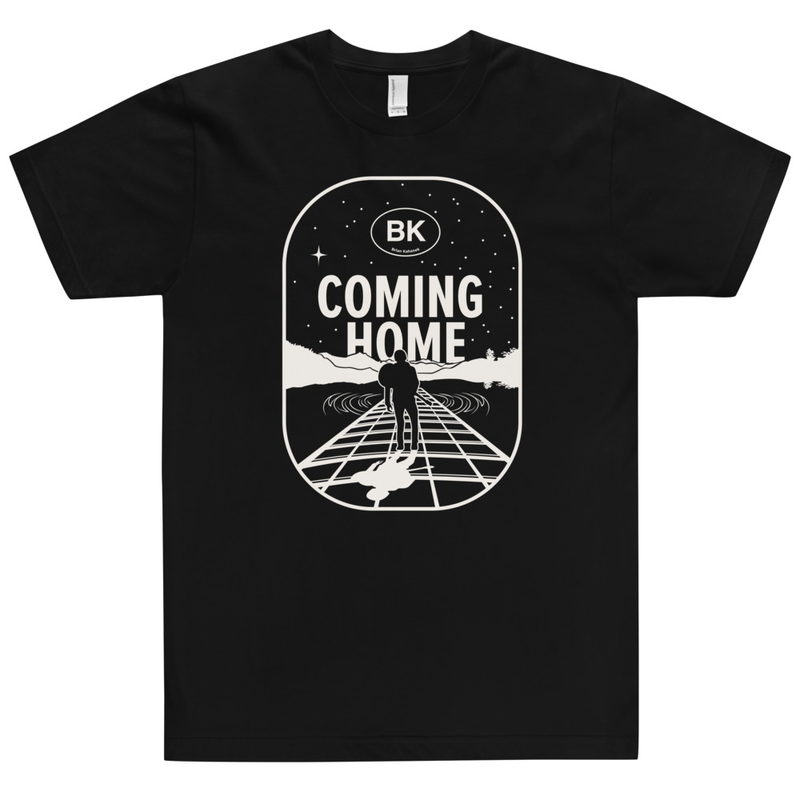 BK - Coming Home - Unisex T-Shirt 100% Cotton Made in USA