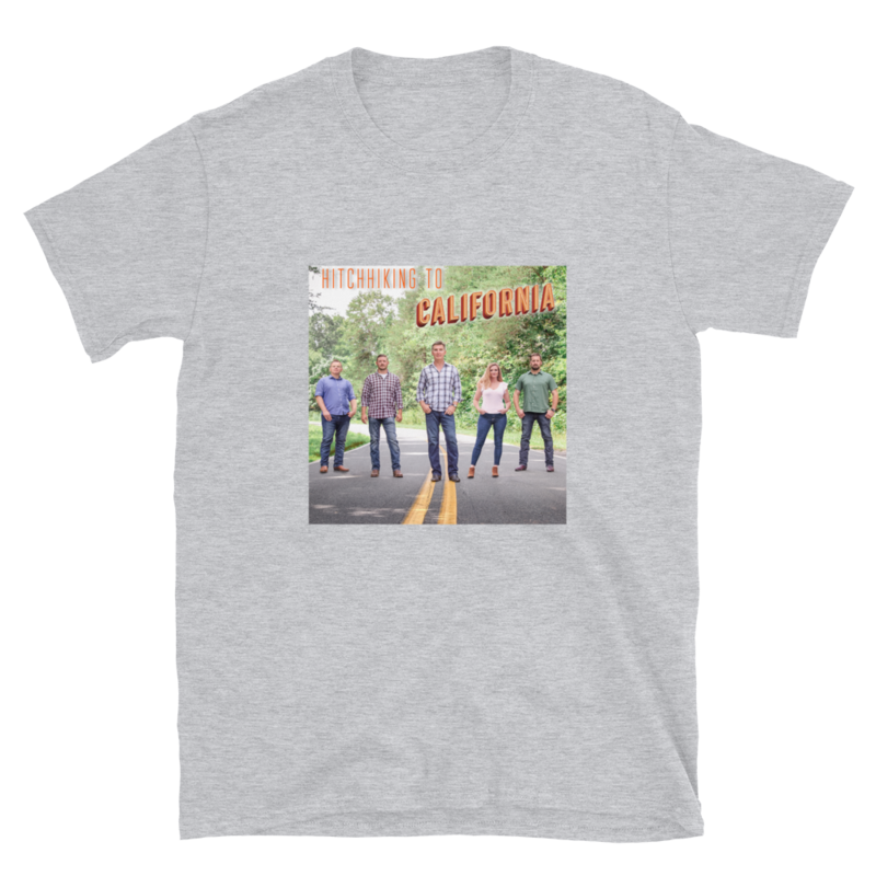 Hitchhiking to California - Adult T-Shirt