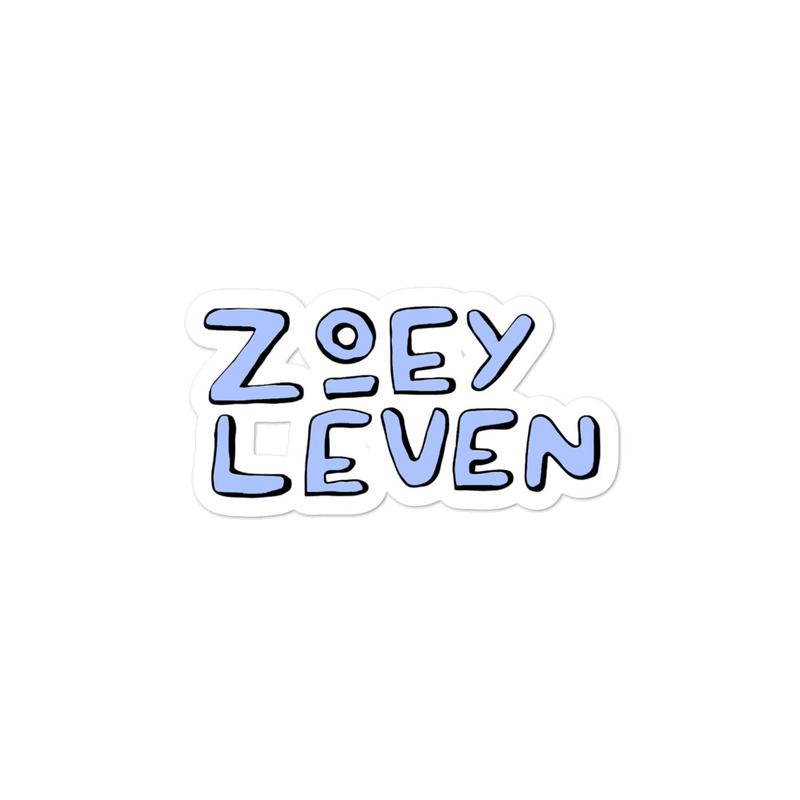 Zoey Leven Sticker