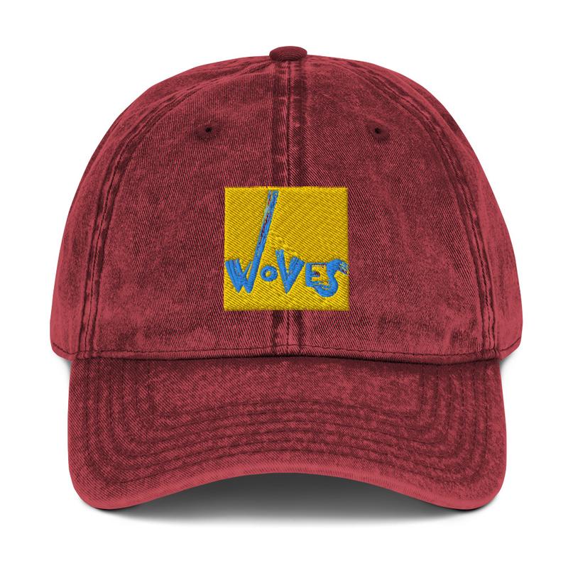 Vintage Cotton Twill Cap (Woves - Yellow Sky)