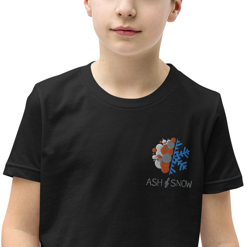Youth Embroidered Short Sleeve T-Shirt
