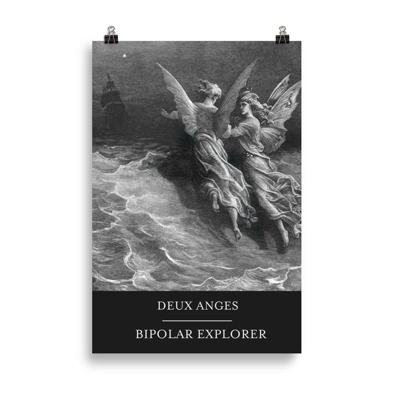 DEUX ANGES Poster -EU size (cm)