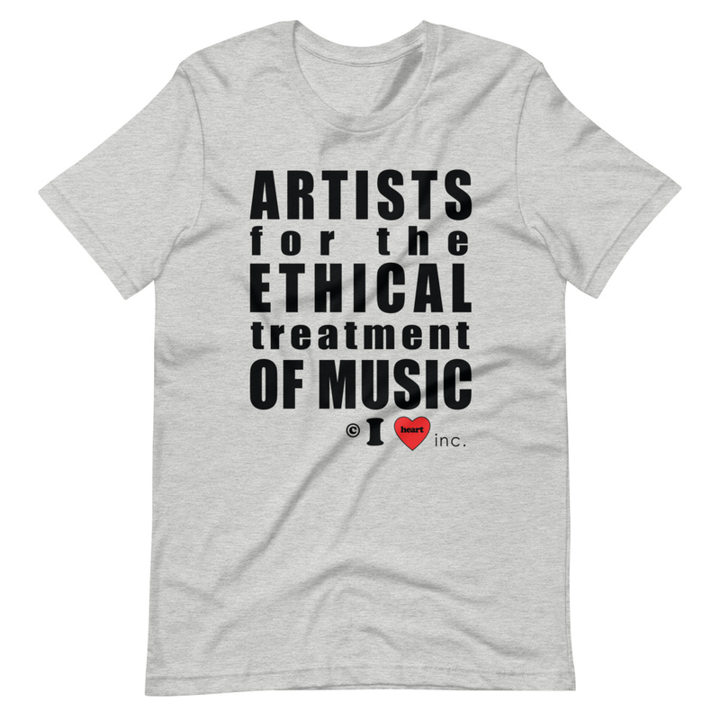 Artists for the Ethical Treatment of Music Short-Sleeve Unisex T-Shirt