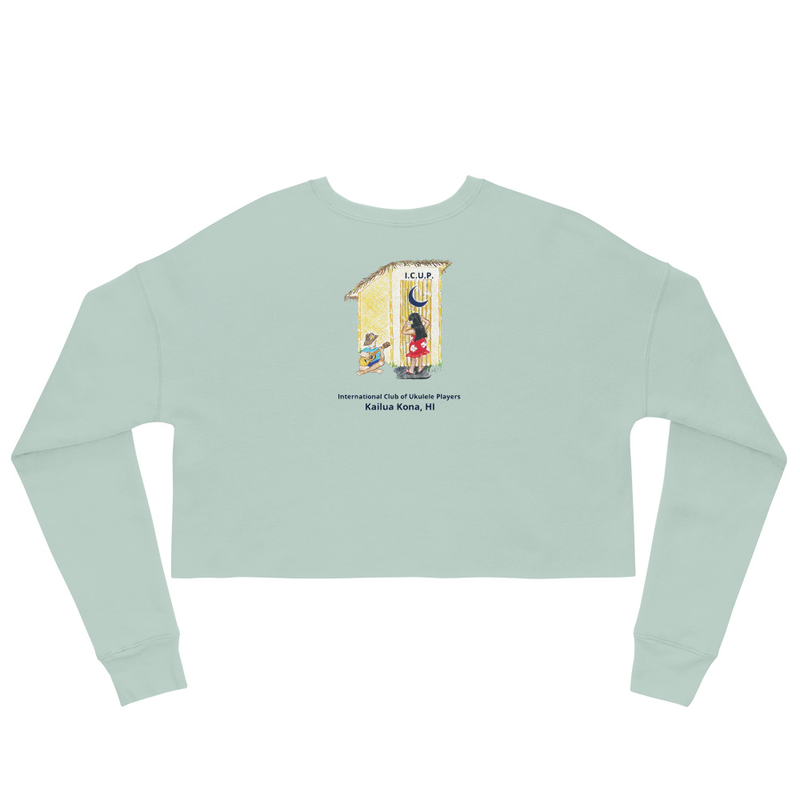 Crop Sweatshirt-Muted Colors