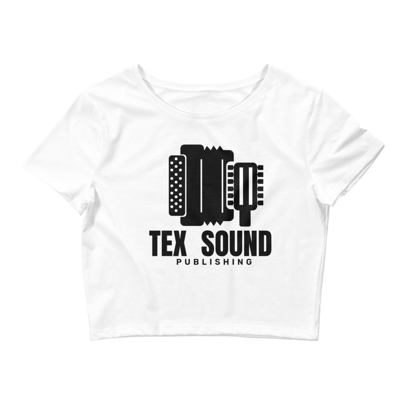 Tex Sound Publishing (Women's Crop Tee)