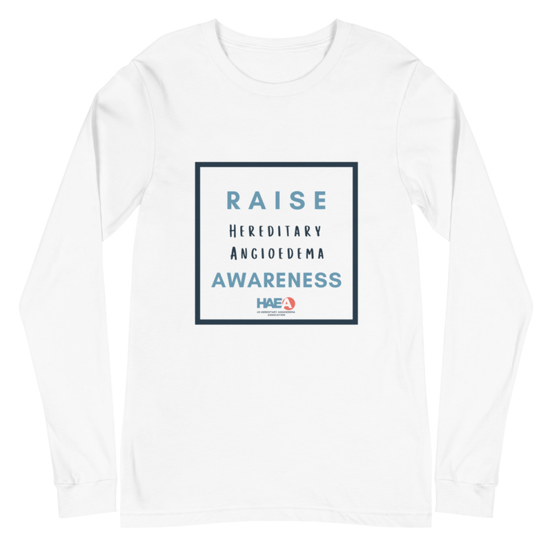 Apparel - Raise HAE Awareness Unisex Long Sleeve Tee