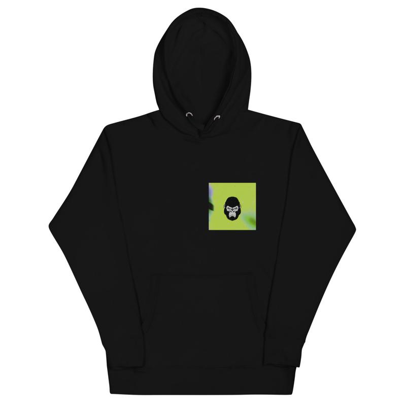 "Ta3$ x ""Gorilla Glue"" Unisex Hoodie (smaller logo)"
