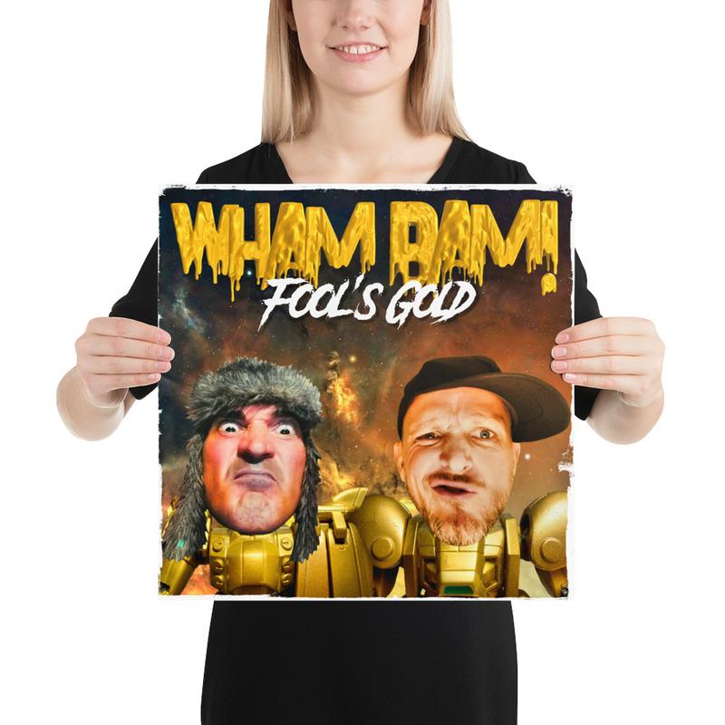 Poster - WHAM BAM!