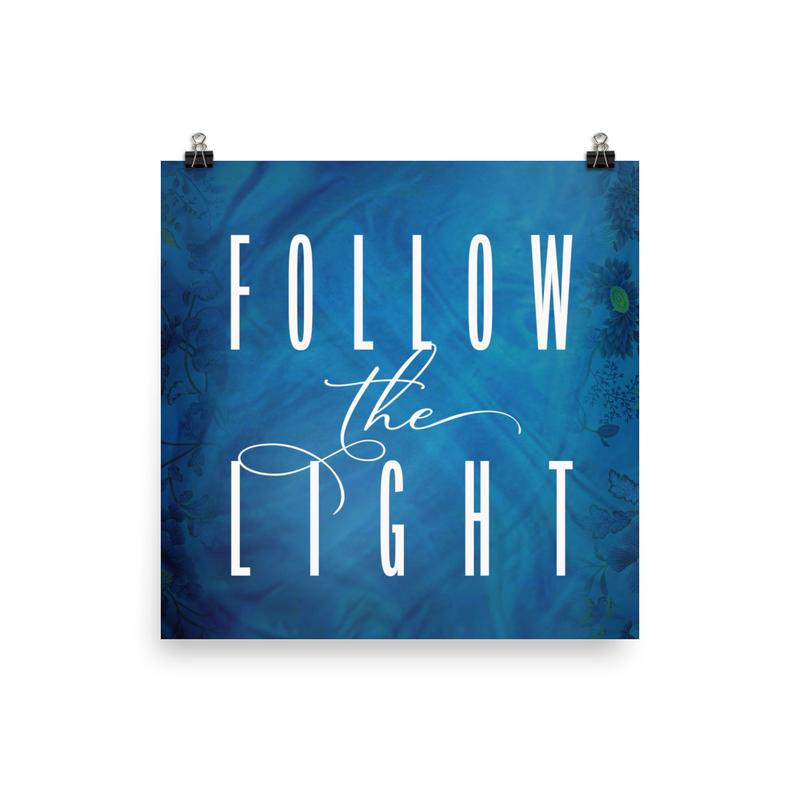 Follow the Light Poster