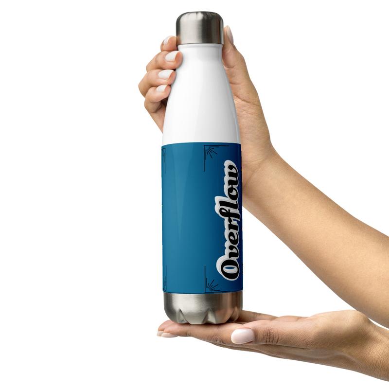 Overflow- Stainless Steel Water Bottle