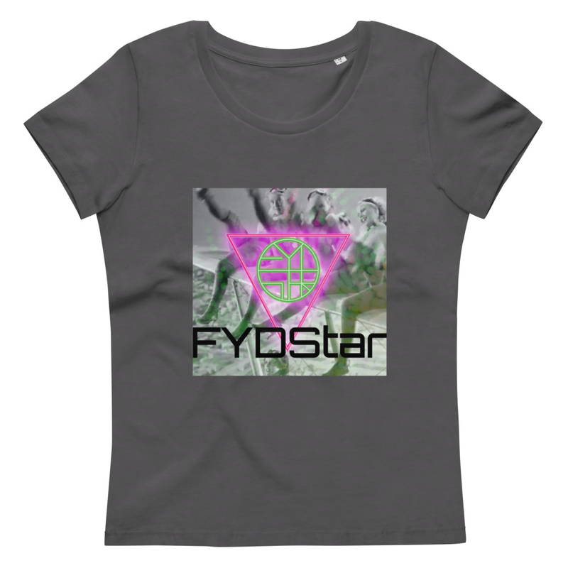 FYDStar's Flying Ladies Who Kick - Women's fitted eco tee
