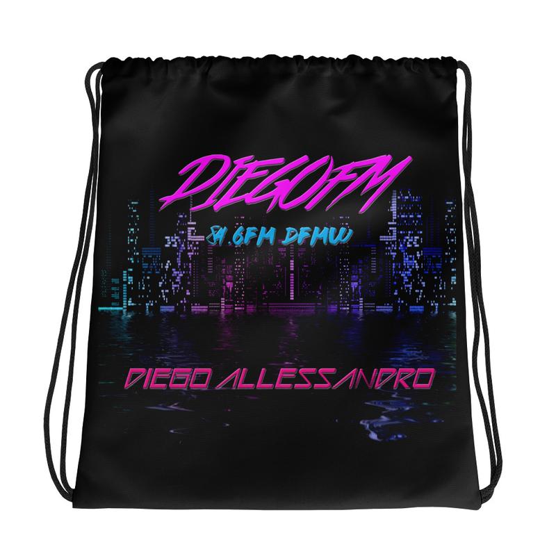 DiegoFM Drawstring Bag