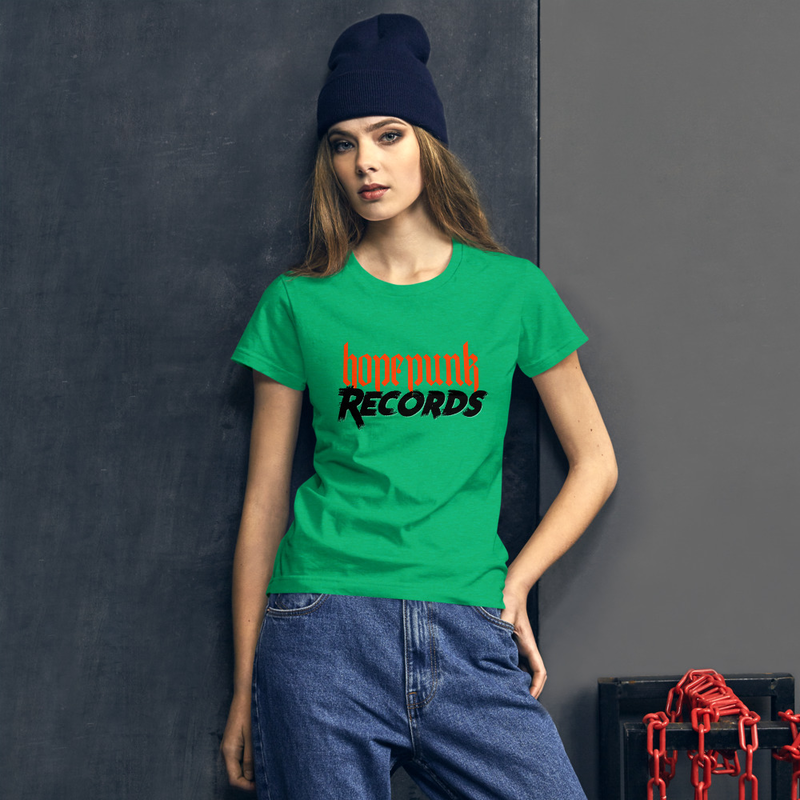 Women's short sleeve t-shirt - HopePunk Records