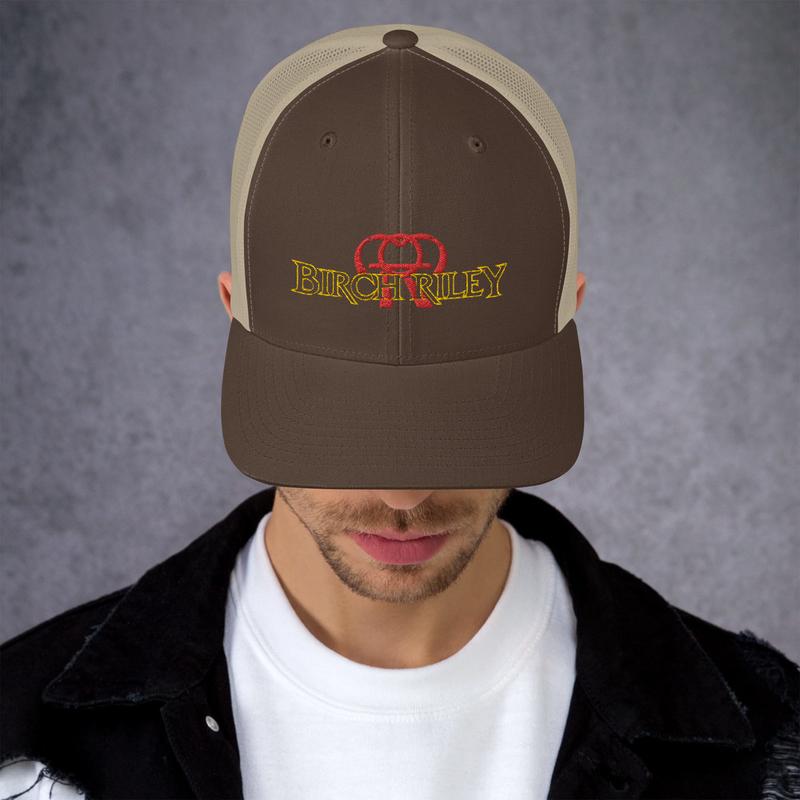 Birch Riley Logo Trucker Cap