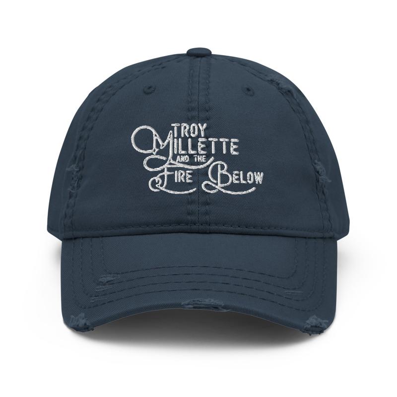 Logo Distressed Dad Hat