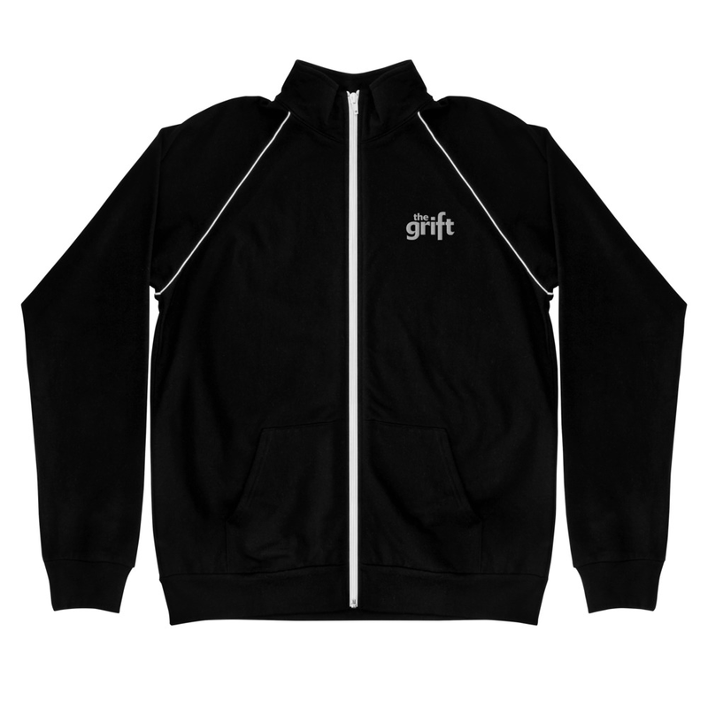 Piped Fleece Jacket - Classic Logo