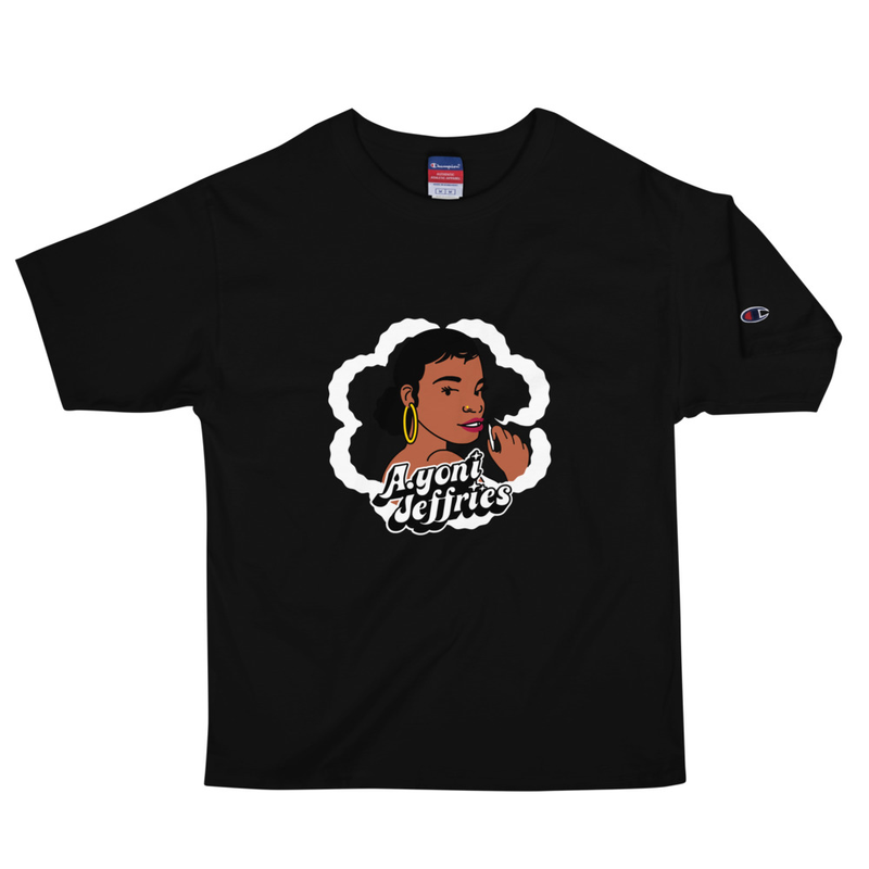 AJ Smoke Flower Champion T-Shirt