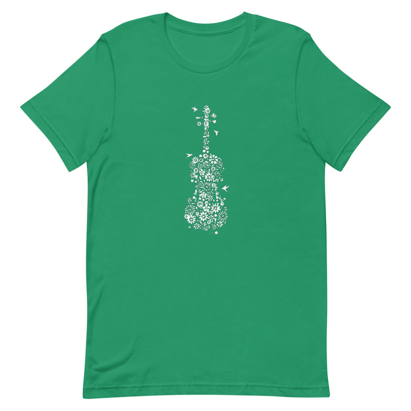 Fiddle Short-Sleeve Unisex T-Shirt