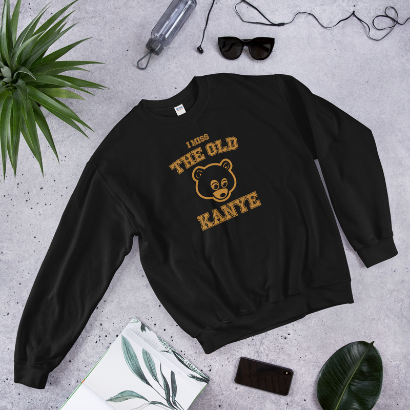 "Sweatshirt ""I miss the old Kanye"" (4 colors)"
