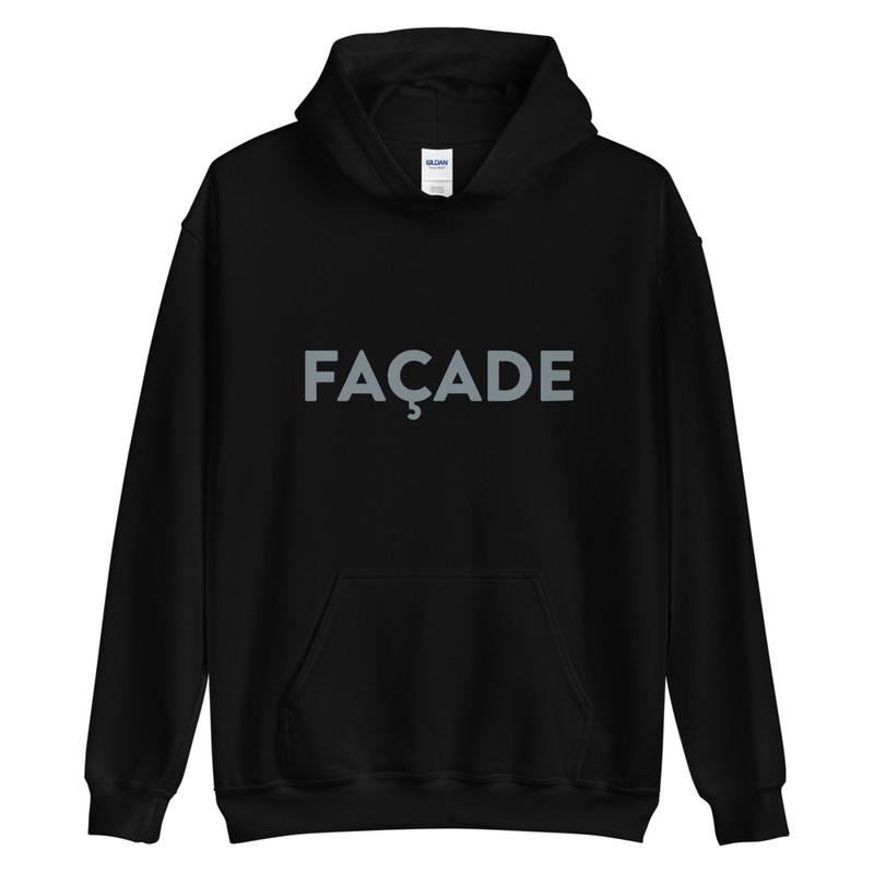 Facade Title Hoodie