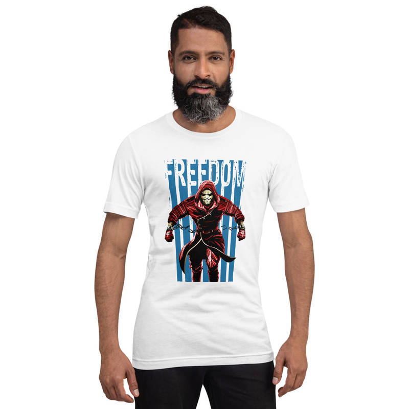 Freedom Red/Blue Unisex T-Shirt