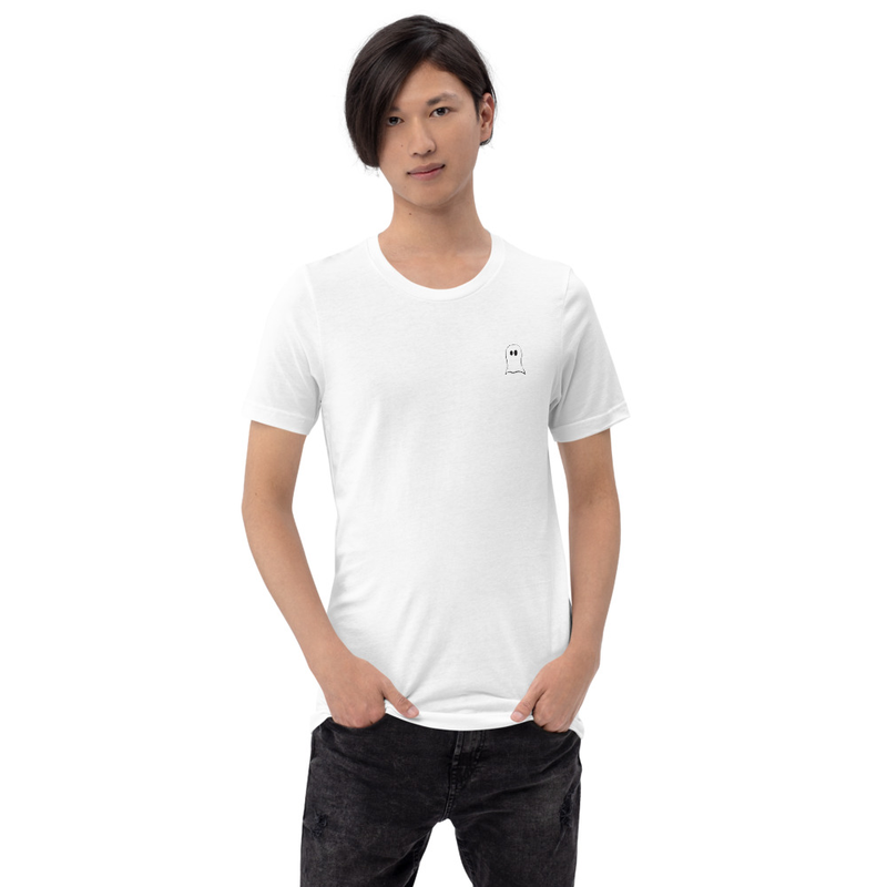 Ghostly White - White T-Shirt