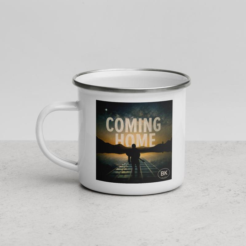 BK Album - Enamel Camping Mug (American flag on back)