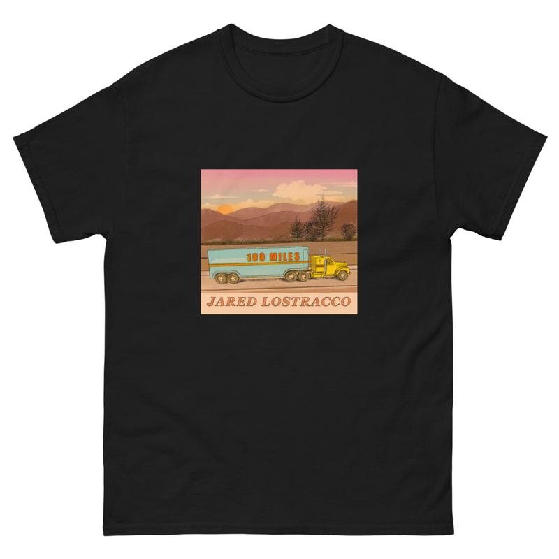 Men's 100 Miles T-shirt