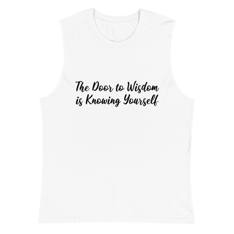 Door to Wisdom - Muscle Shirt