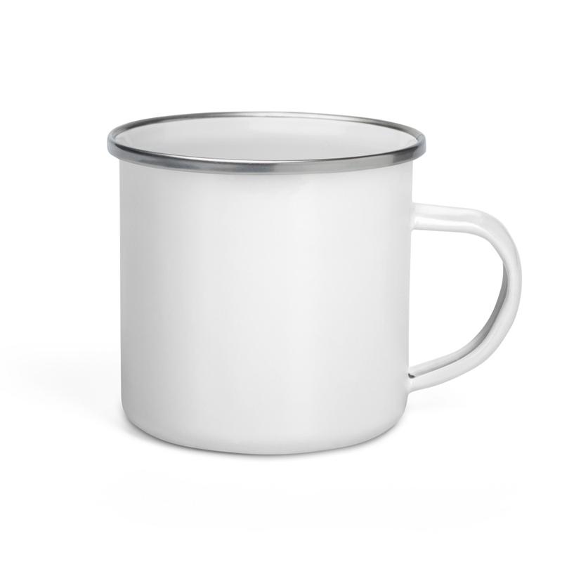 Out of the Blue Enamel Mug