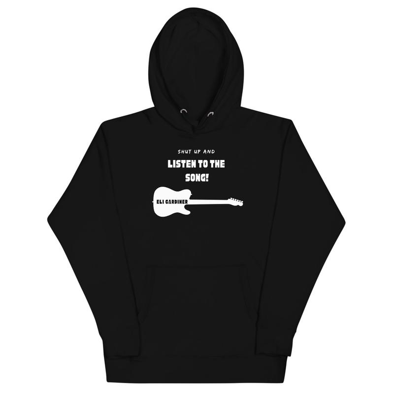 shut up and listen hoodie