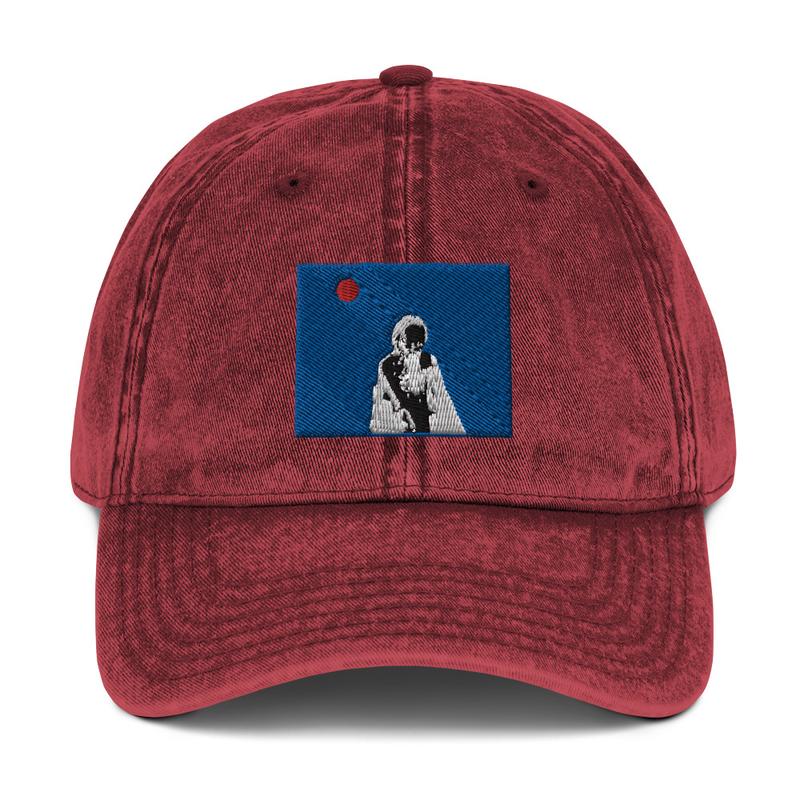 Vintage Cotton Twill Cap (Will Phåråoh - sexsax Blue Sky)