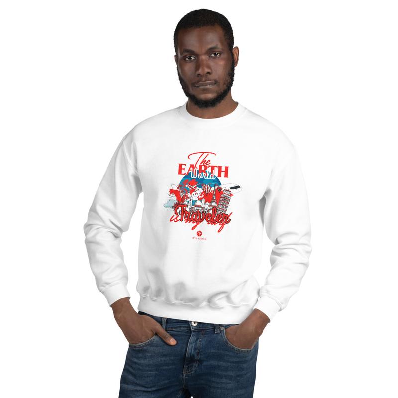 Unisex Sweatshirt - White / S