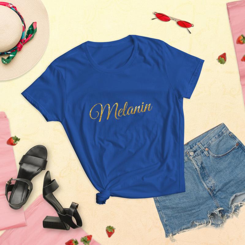 Melanin Women's short sleeve t-shirt